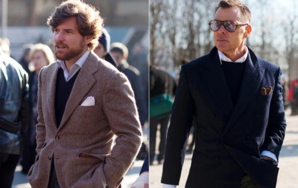 Πουκάμισο με πουλόβερ: V γιακάς ή στρογγυλός;