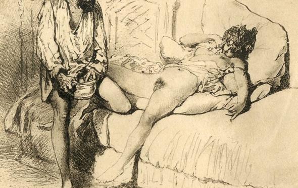 Αιμίλιος Μπερτιέ και Mihály Zichy: Δύο ζωγράφοι που ύμνησαν το σεξ