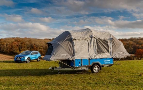 Nissan x Opus concept camper: το camping όπως το φανταζόσασταν