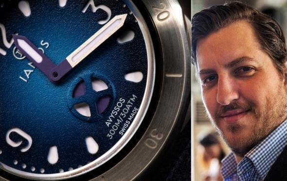 Ο Ιάκωβος Χατζηδημητρίου δημιουργεί τα ελληνικά ρολόγια Ianos: «Kάνω πράξη το όνειρό μου!»