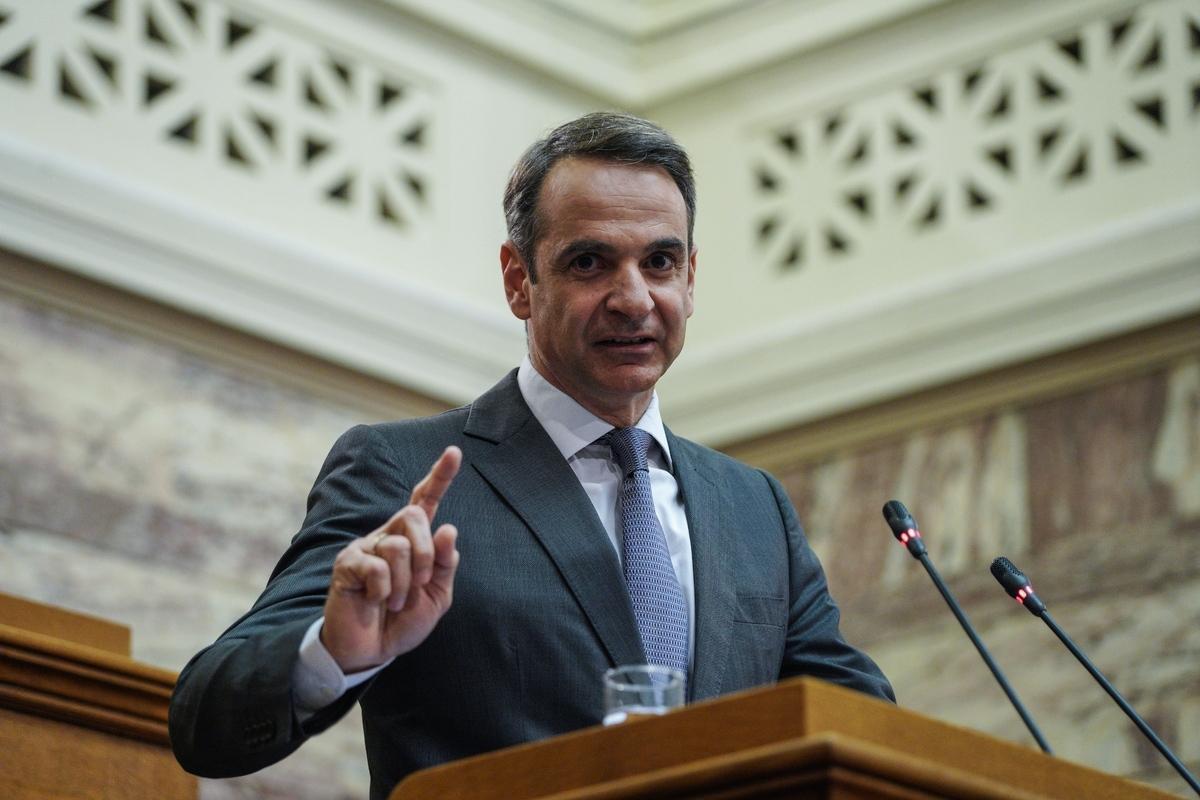 4b2b849dcf Kyriakos Mitsotakis  meeting  MP  New Democracy  parliamentary group ...