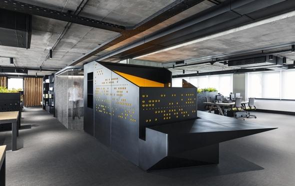 Συμβαίνει στην Αθήνα: ένας εργασιακός χώρος με προωθητικό ντιζάιν που εμπνέει