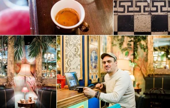 Πίνοντας εκλεκτό espresso με τον Χρήστο Ευκρατίδη, συνδημιουργό του ατμοσφαιρικού «Noel»