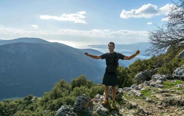 Κρίτων Ρούντος: «Το τρέξιμο μιλάει στην καρδιά μου. Είναι πραγματική ελευθερία»