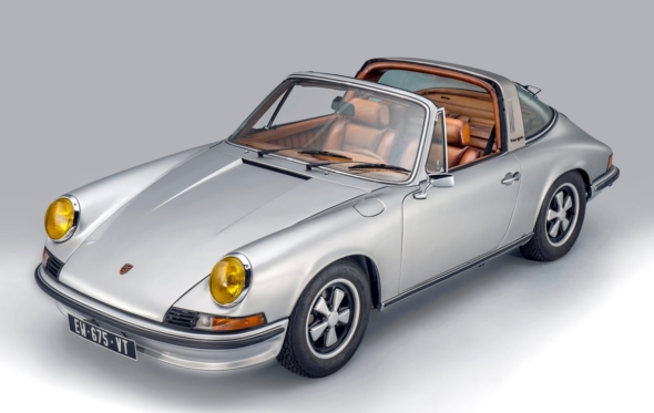 Το πιο σέξι αυτοκίνητο: Η Porsche 911 Targa «ντυμένη» με δέρμα Berluti