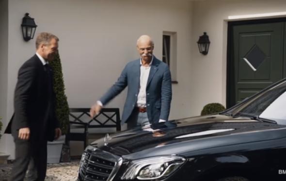Ασύλληπτη διαφήμιση της BMW: πώς αποχαιρετάει τον CEO της Mercedes