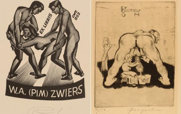 Ex libris eroticis: γυμνές αναγνώστριες και παθιασμένοι βιβλιόφιλοι