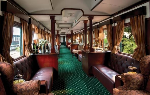 Ταξιδεύοντας με τα πολυτελή τρένα της Rovos Rail στη Ν. Αφρική