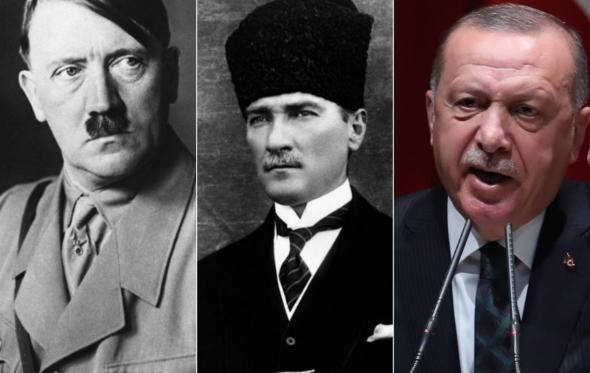 Ο Χίτλερ ήταν «μαθητής» του Κεμάλ. Ο Ερντογάν;