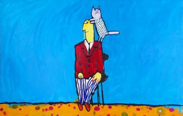 Στέλιος Καραγιάννης, «Η γάτα που το μήνυμα θα λάβει»