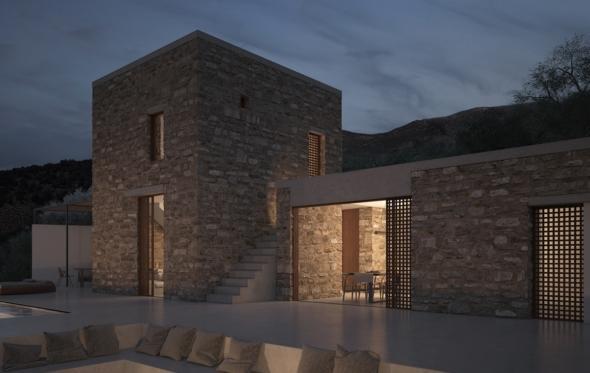 «Monolithoi»: οι εξοχικές κατοικίες στη Μάνη που χάρισαν διεθνές βραβείο σε δύο νέους αρχιτέκτονες