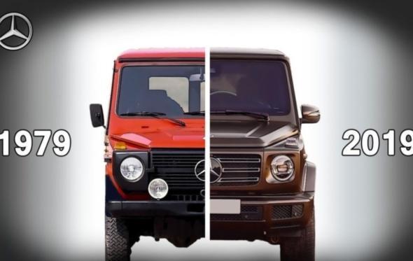 40 χρόνια G-wagen: πώς η Mercedes-Benz ανακάλυψε το G-spot της αυτοκίνησης