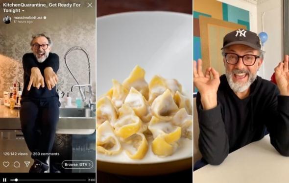 Massimo Bottura: ο διάσημος σεφ που εξελίσσεται σε σταρ της εποχής του κορονοϊού