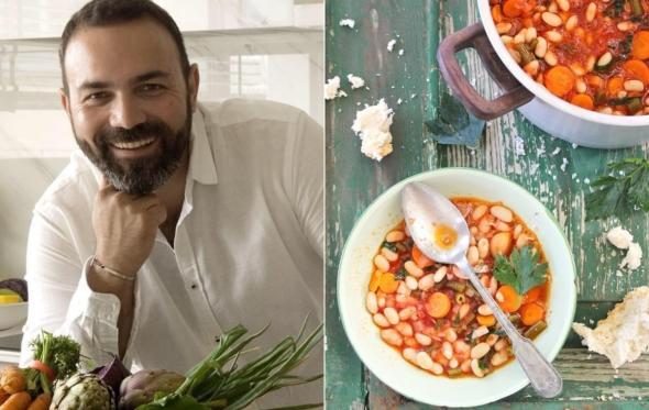 Συνταγή: παραδοσιακή φασολάδα για την Μ. Εβδομάδα από τον Ανδρέα Λαγό