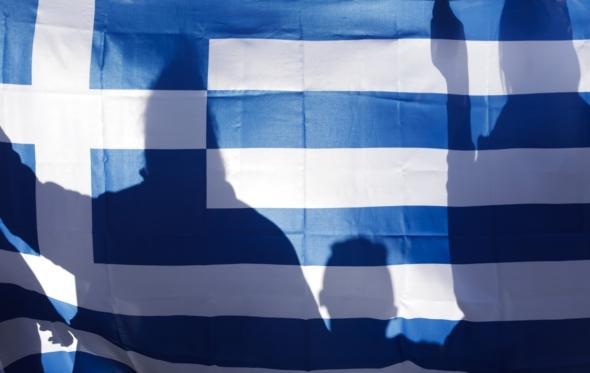 Δύο Ελλάδες, μία σημαία