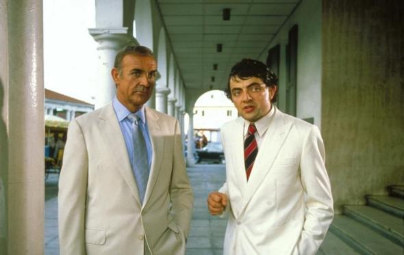 Μr Bean, τι δουλειά είχες σε ταινία του James Bond;