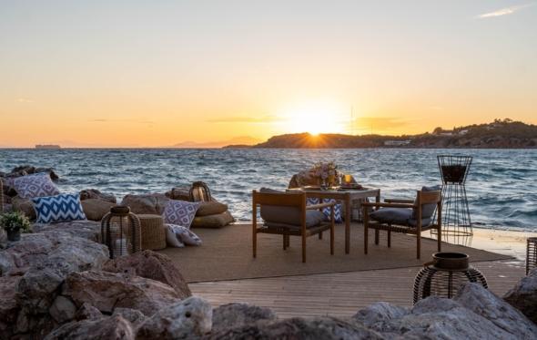 Privite Dining στον Αστέρα: ριβιέρα με χρώματα, γεύσεις και αποστάσεις