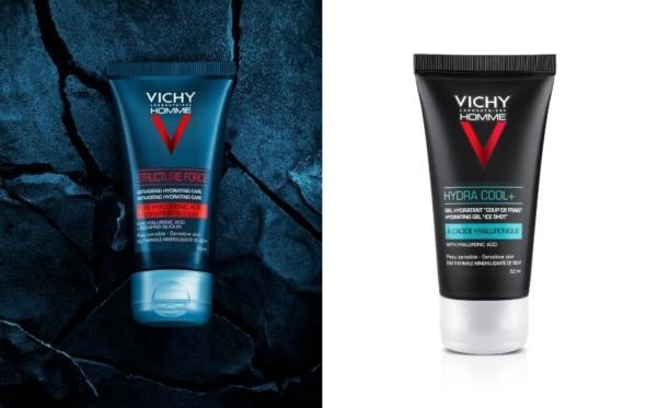 Vichy Homme: δύο νέα «όπλα» για την ενίσχυση του ανδρικού προσώπου