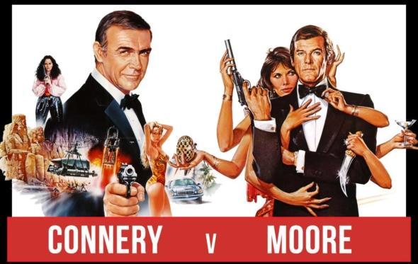 «Η μάχη των Bond»: όταν ο Κόνερι και ο Μουρ έφαγαν τα μουστάκια τους