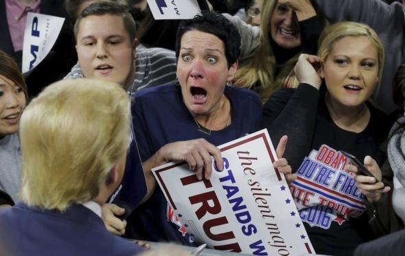 O Τραμπ είναι ο κακός μας εαυτός που κέρδισε προς στιγμήν τον καλό