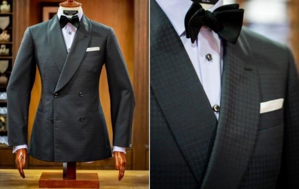 Το λουκ του μήνα: εναλλακτικό tuxedo για τις γιορτές
