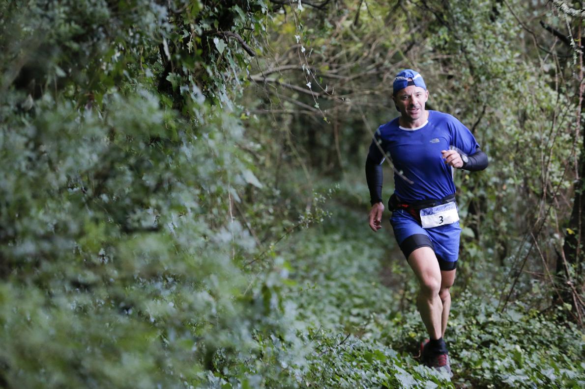 Εικόνα 202: Τρέχοντας στη φύση, στο Corfu Mountain Trail, τον Φεβρουάριο του 2015.