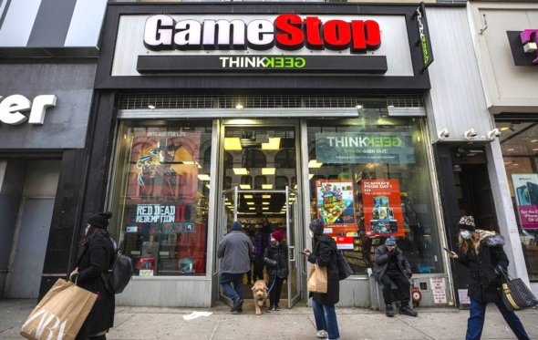Gamestop: έτσι ποντάραμε στη μετοχή-φούσκα που έχει κάνει άνω κάτω την Wall Street