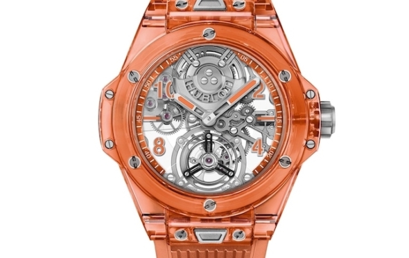 Big Bang Tourbillon Automatic: η πορτοκαλί δύναμη της Hublot