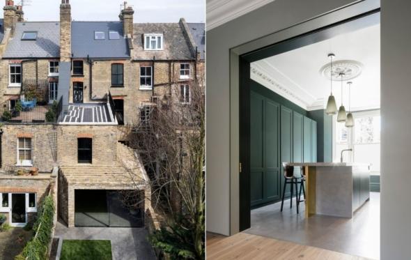 Step House: μια απροσδόκητη ανακαίνιση στο Λονδίνο από έλληνες αρχιτέκτονες