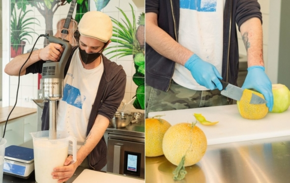 Django: gelato από την Σύρο με αγάπη τώρα στο Κουκάκι