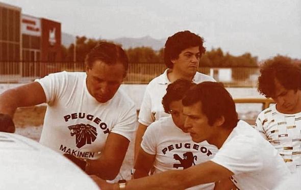 Βασίλης Χαρίτος: Με την ομάδα της Peugeot στο Ράλλυ Ακρόπολις του 1980