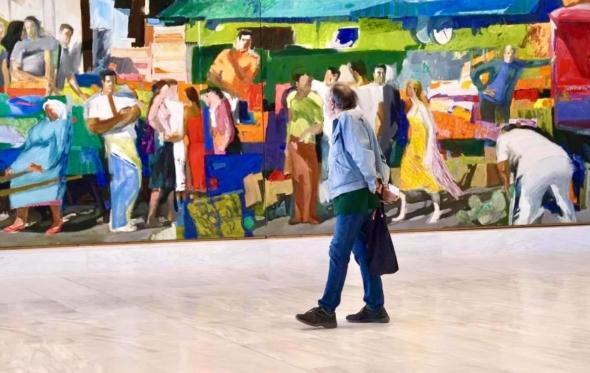 Ένα πρωινό Κυριακής στη νέα Εθνική Πινακοθήκη: η ζωή και η τέχνη επιστρέφουν