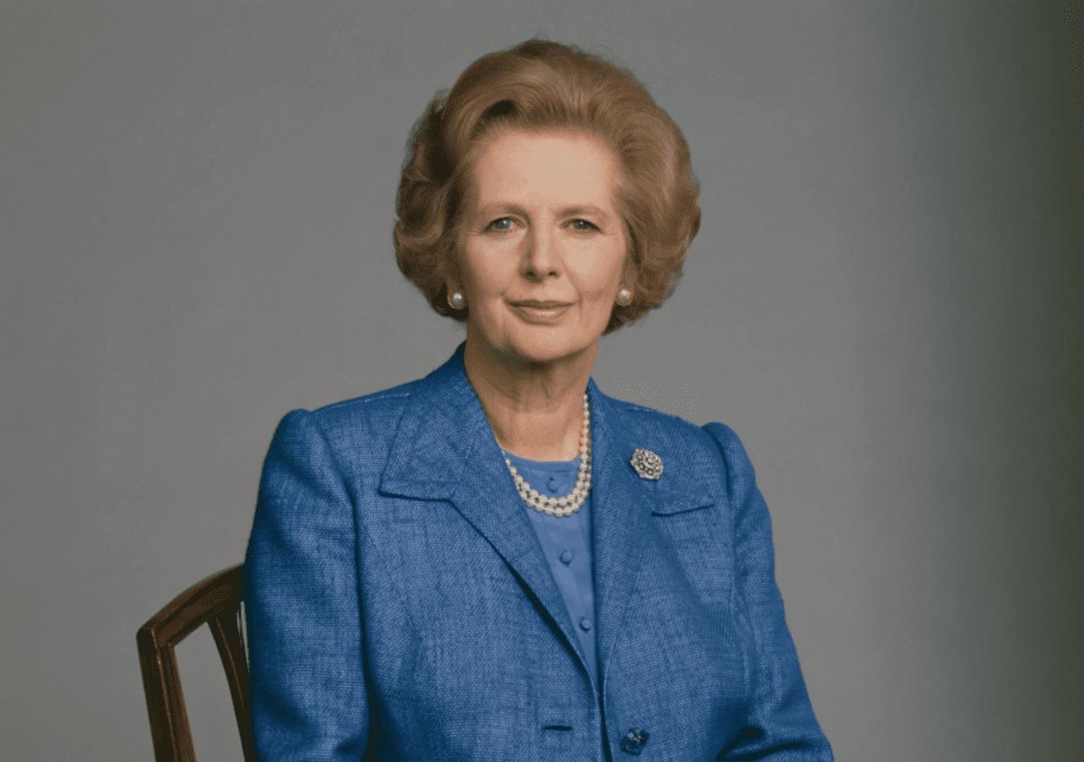 Thatcher portrait