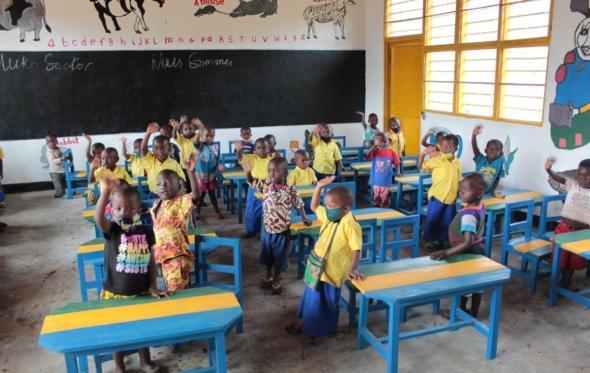 Η ελληνική εταιρεία που δημιούργησε κέντρο Προσχολικής Αγωγής στη Ρουάντα