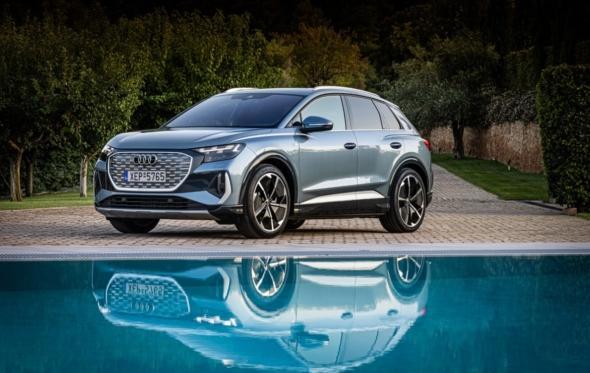 Q4 e-tron: έφτασε το νέο ηλεκτρικό SUV από την Audi