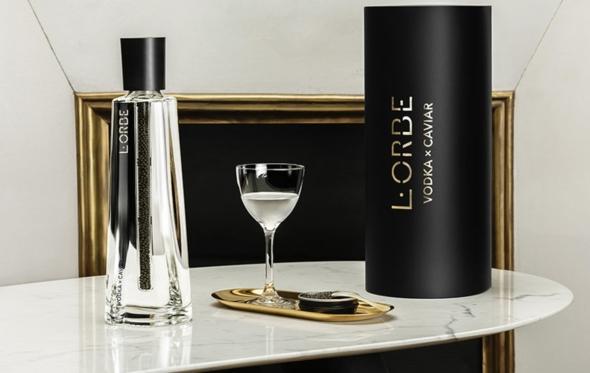 L'Orbe Vodka x Caviar: κορυφαία βότκα με χαβιαρι… 2 σε 1