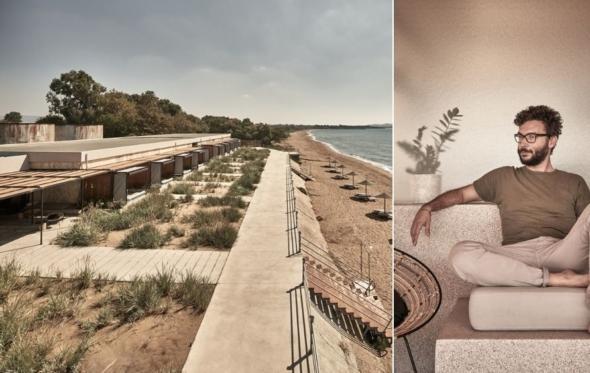 Νίκος Καραφλός: ο δημιουργός του boutique hotel Δεξαμενές αποκαλύπτεται