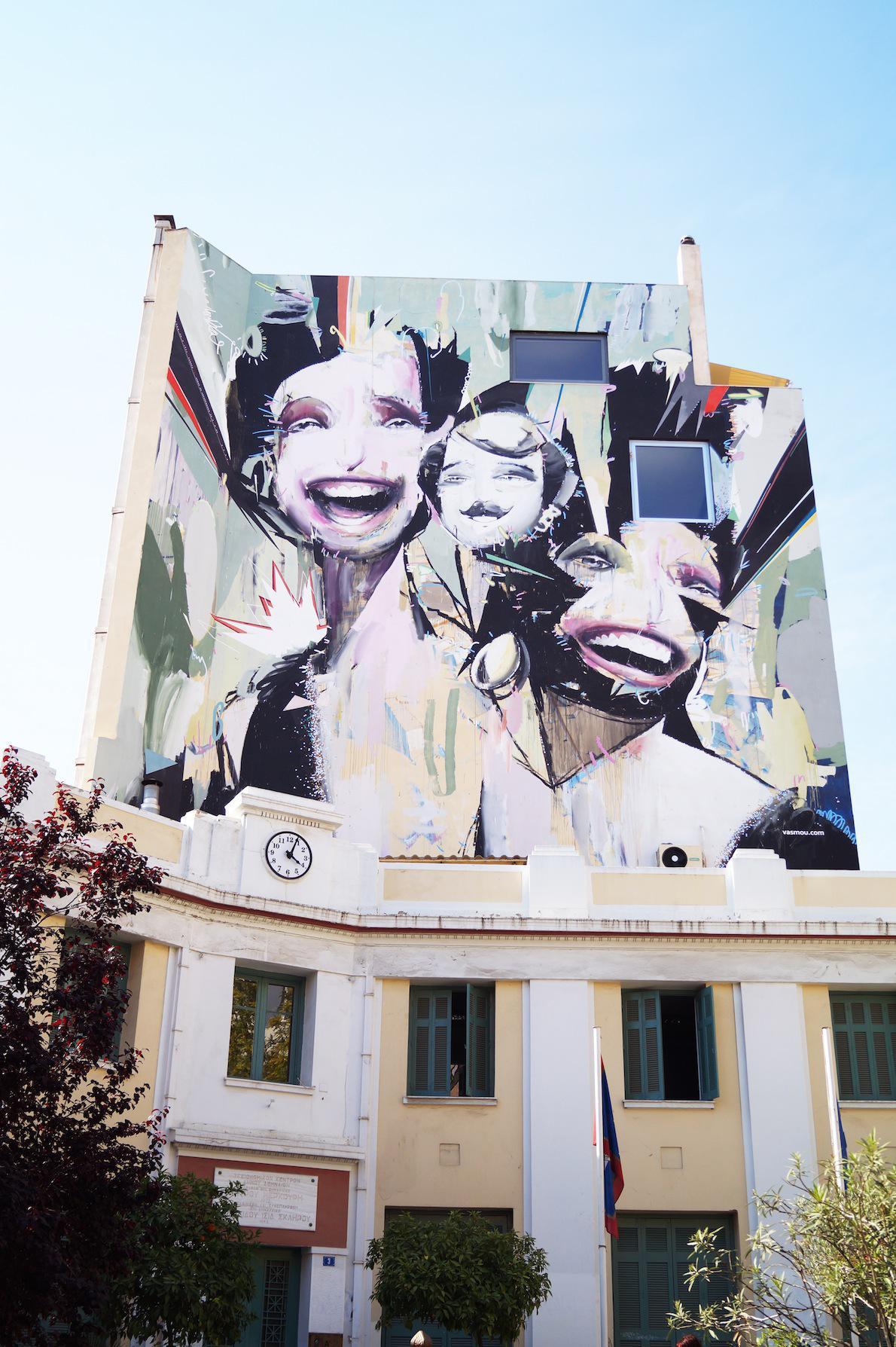 Ψυρρή Writer: Αlexandros Vasmoulakis Ένας από τους πιο αγαπημένους καλλιτέχνες της πόλης και ένα από τα πιο όμορφα έργα του. Mixed Media http://www.vasmou.com
