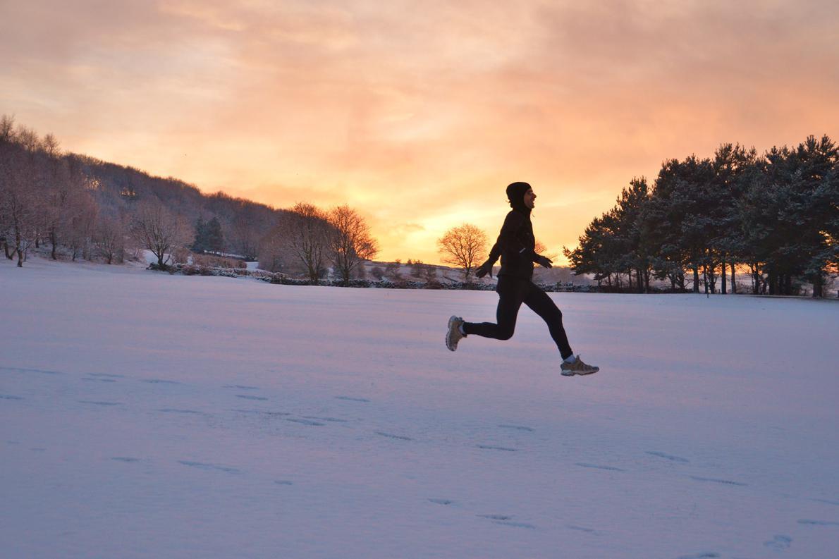 «Επιτακτική η ανάγκη να τρέξω, ακόμα κι όταν οι καιρικές συνθήκες δεν ευνοούν».