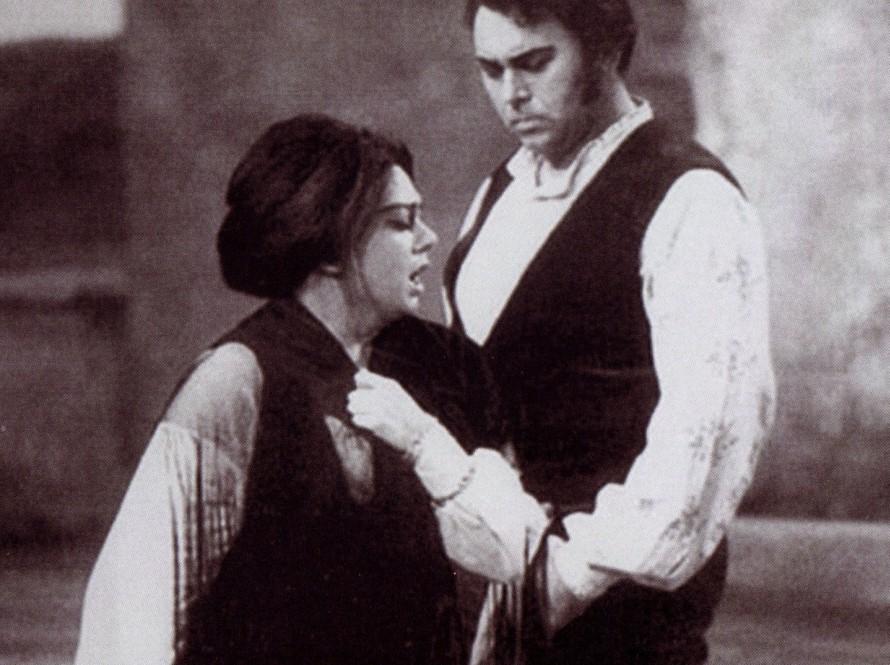 Καβαλερία Ρουστικάνα, με τον Gianfranco Cechelle.