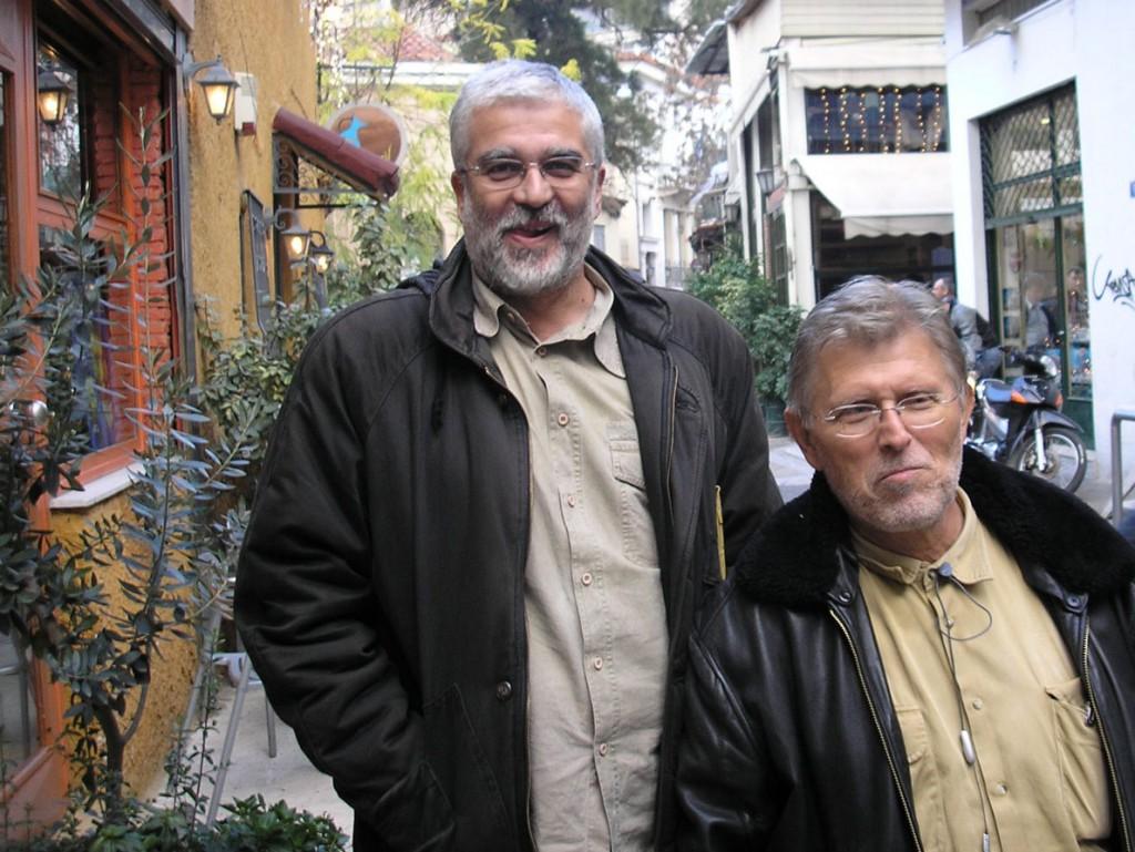 Σωτήρης Κακίσης, Νίκος Περάκης (φωτογραφία Γιώργος Πανουσόπουλος).