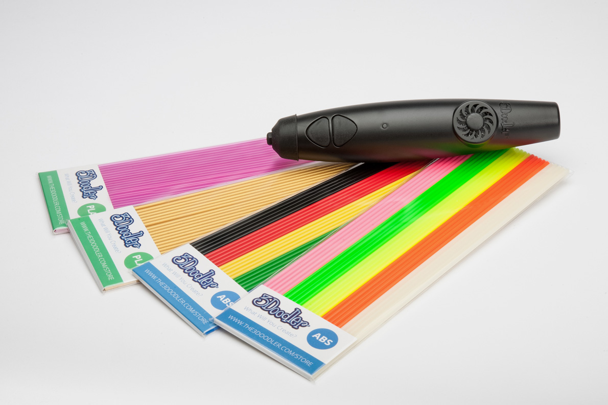 3Doodler with plastic