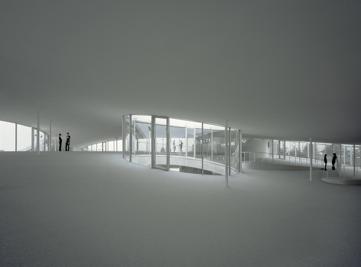 Rolex Learning Centre, αρχιτέκτονες: SANAA