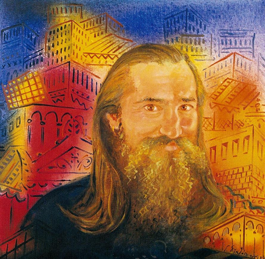 Γιώργος Σταθόπουλος: πορτρέτο του Τζιμάκου.