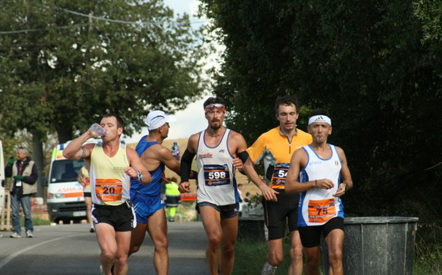 Tuscania-Tarquinia, Ιταλία, 2008. Παγκόσμιο πρωτάθλημα 100 χλμ. της IAU.