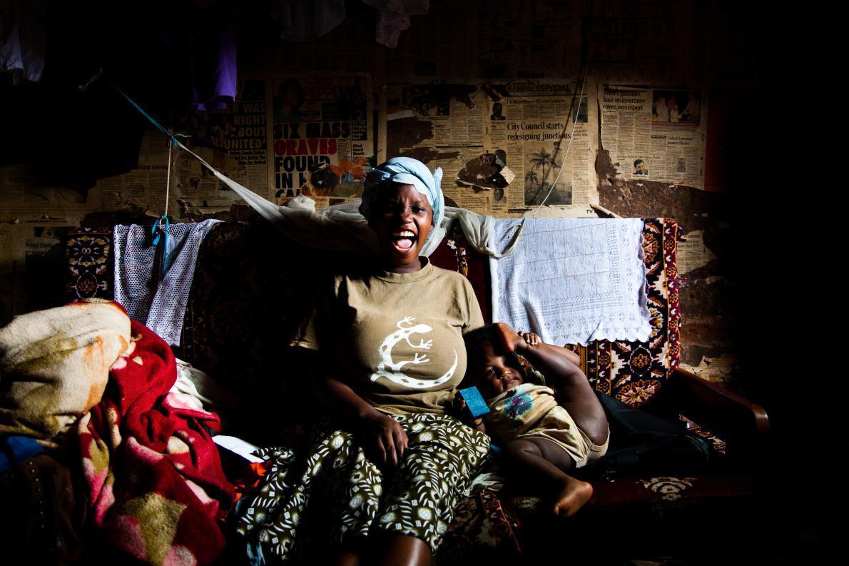 Η προσωποποίηση της Ευτυχίας. Uganda