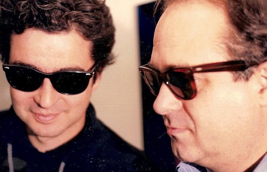 Γιώργος Σταθόπουλος, Σωτήρης Κακίσης, Blues Brothers. (Φωτογραφία Τζίμης Πανούσης)