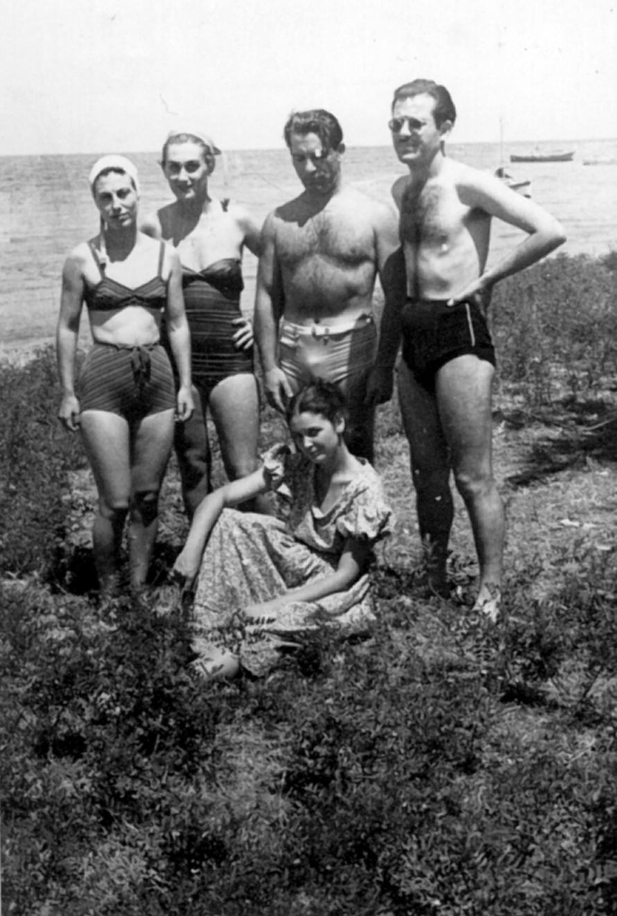 Με την Άννα Συνοδινού και την Κάκια Παναγιώτου.