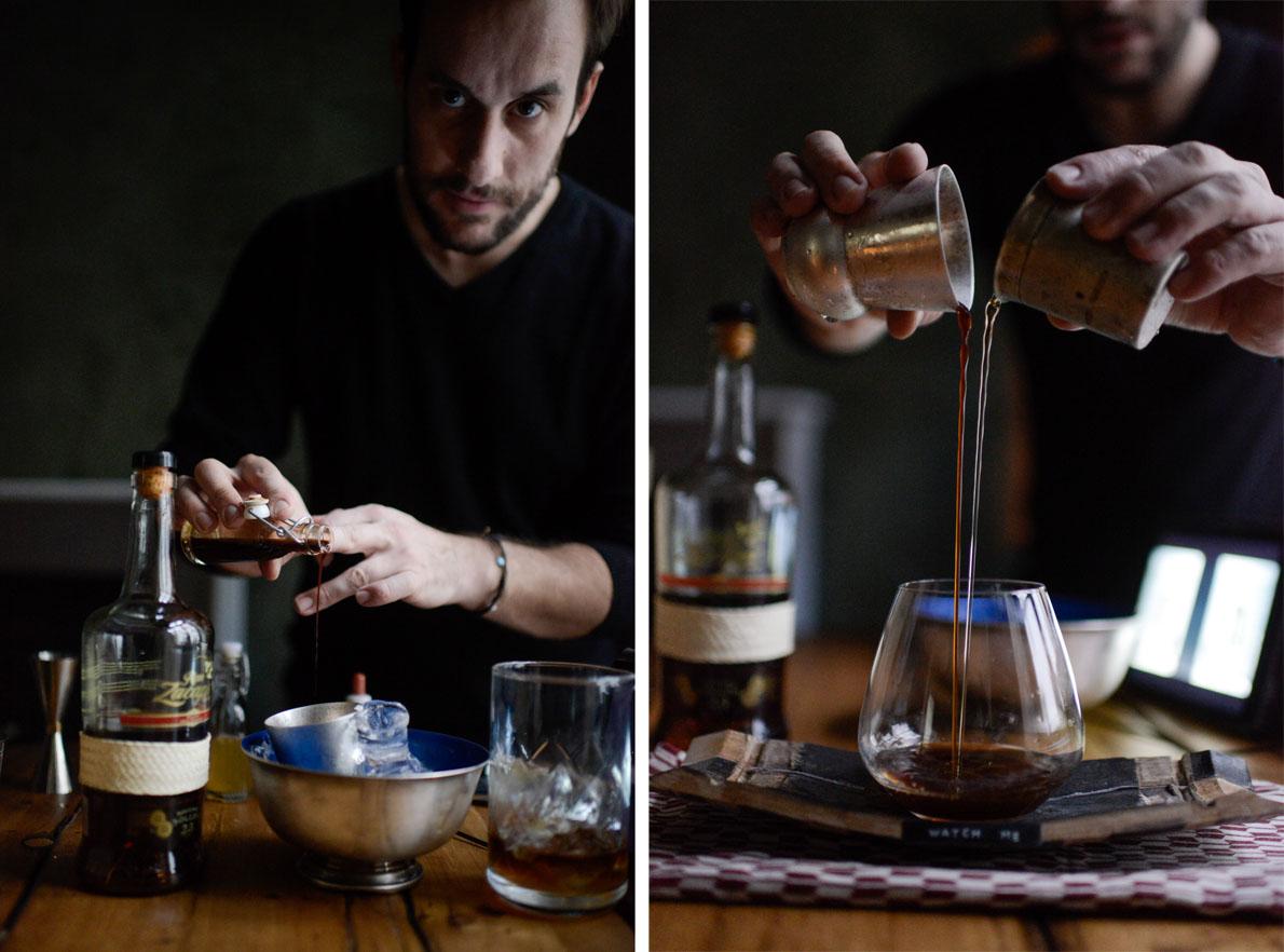 Νίκος Μπάκουλης, από το «The Clumsies bar», Αθήνα