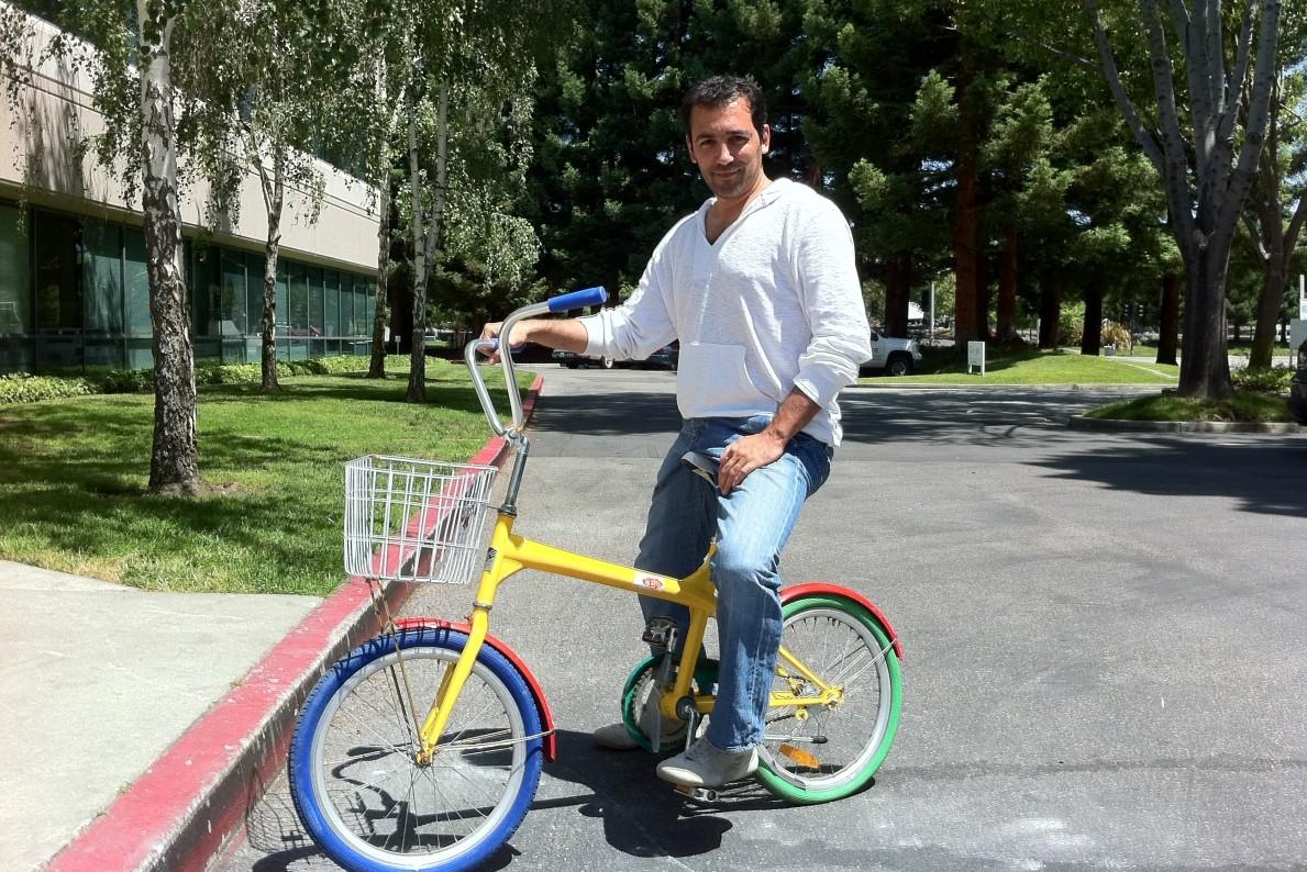 Γυρίζοντας την Google με το Google bike to go